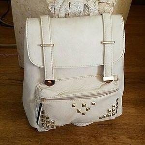 Handbags - LIGHT TAUPE BACKPACK